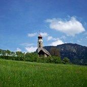 Kirche Sankt Valentin in Seis am Schlern