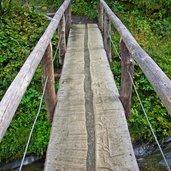 Brücke bei Mahlknechthütte