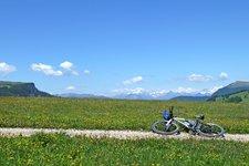 MTB Radtour Seiser Alm Monte Piz
