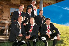 Kastelruther Spatzen, auf Almhütte 2011