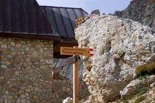 Bergsteigen Klettern