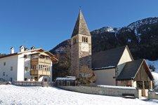 St. Michael Kastelruth Winter S. Michele Castelrotto inverno