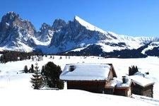 Natur Landschaft -> Plattkofel-Langkofel Winter 2011