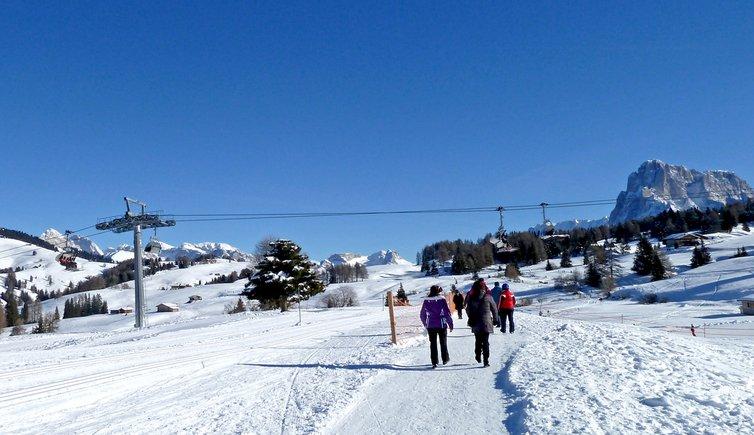 Seiser Alm Winterwanderung, Foto: AT, © Peer