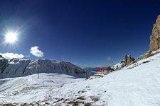Passo Alpe di Tires in inverno